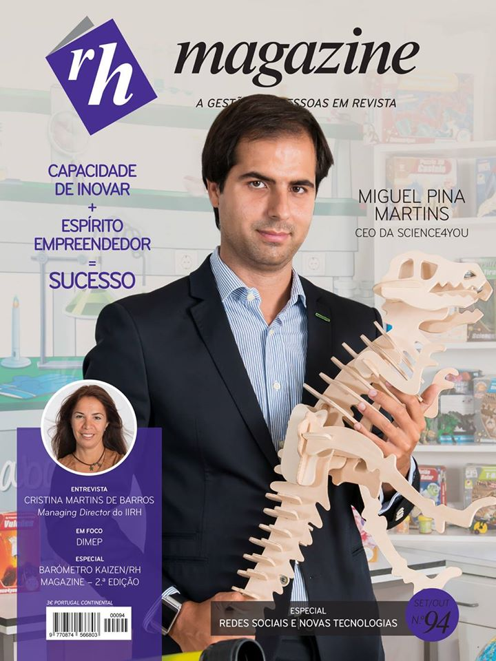 RH Magazine 94 – Miguel Pina Martins – CEO da Science4you