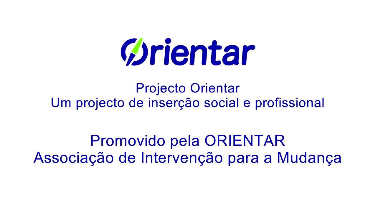 Vídeo Institucional Associação ORIENTAR