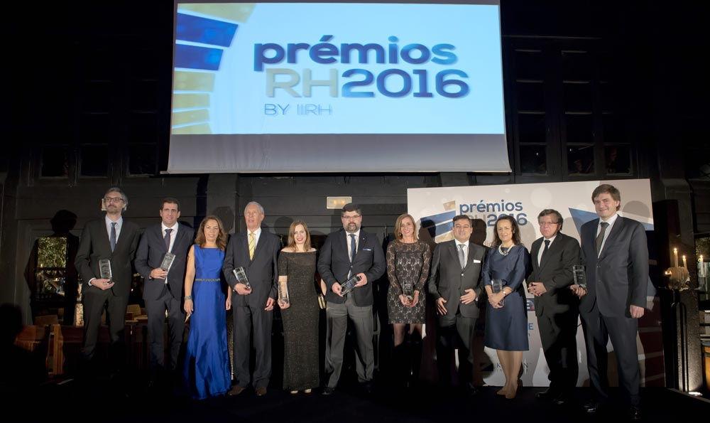 Gala de entrega de prémios RH 2016