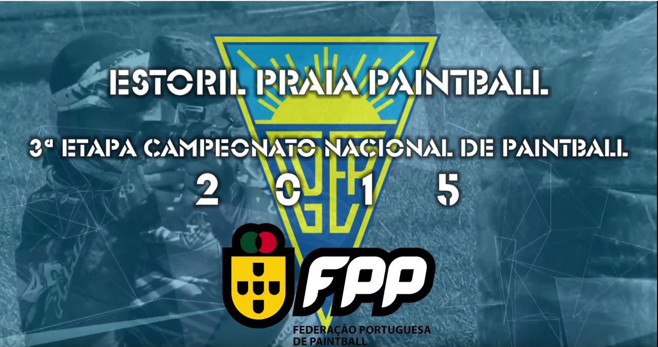 Estoril Praia Paintball 3ª Etapa do Campeonato Nacional 2015 Fotografia, Vídeo, Livestream Profissional