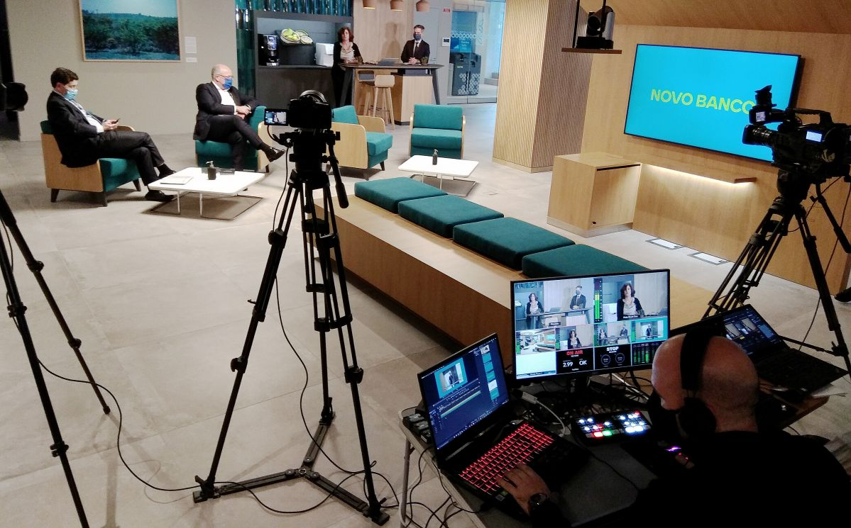 Produtora Microsoft Teams conferências reuniões
