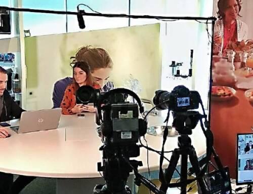 Emissão vídeo reunião Philips para jornalistas via Zoom