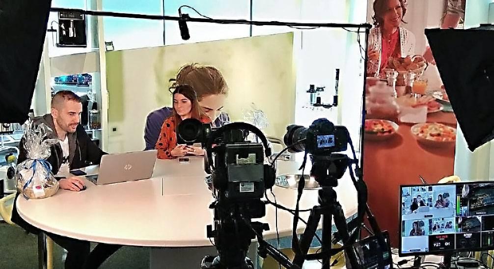 emissão vídeo reunião Zoom